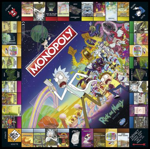 Monopoly : Une version française de l'édition Rick & Morty annoncée