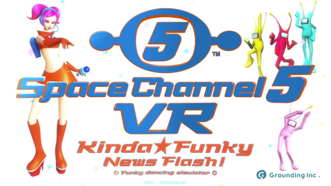 Space Channel 5 VR Kinda Funky News Flash! sur PS4