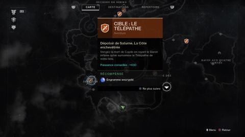 Cible : le Télépathe