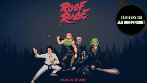 L'univers du jeu indépendant : Roof Rage, duels de samouraïs !