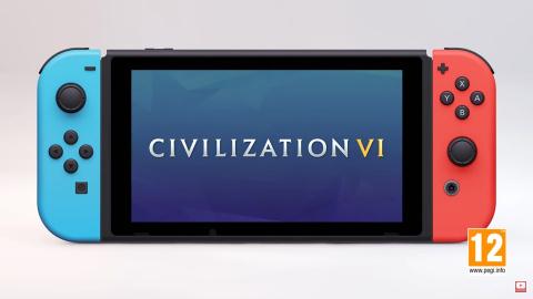 Sid Meier's Civilization VI sera lui aussi sur Switch
