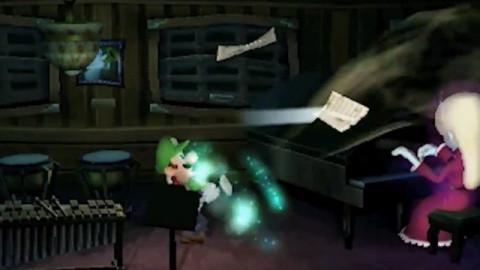 """Luigi's Mansion : """"Le trailer qui ne fait pas si peur"""""""