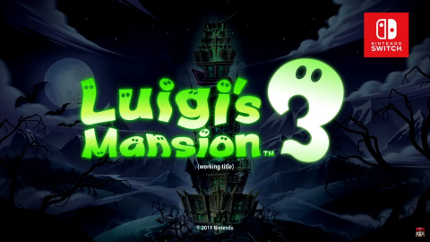 Luigi's Mansion 3 sur Switch