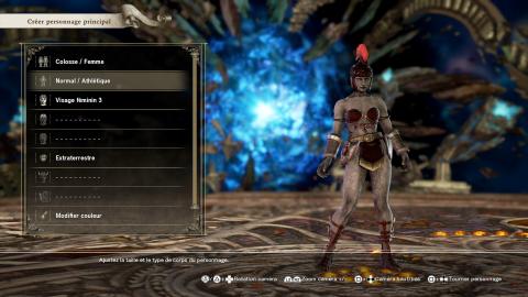 SoulCalibur VI : Le système de création de personnage