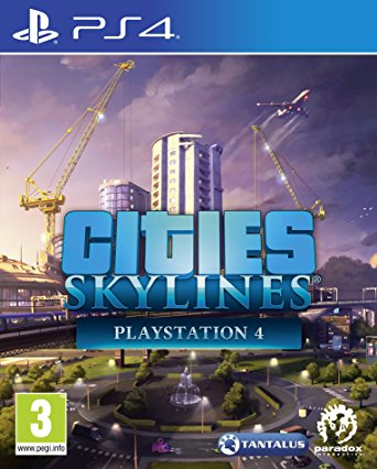 Cities Skylines sur PS4