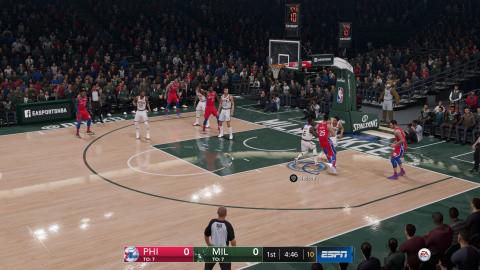 NBA Live 19 : Le basketball pour tous