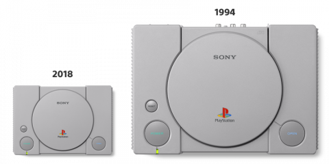 Sony annonce la console PlayStation Classic