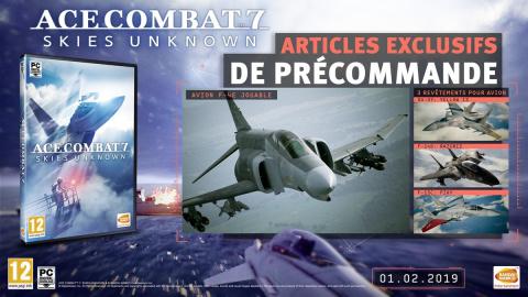 Ace Combat 7 : les bonus de précommande et le Season Pass dévoilés