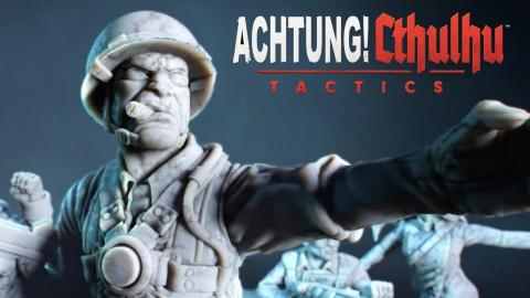 Achtung! Cthulhu Tactics lance les hostilités