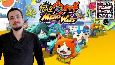 Yo-Kai Watch : Medal Wars : Un free-to-play qui ne manque pas d'esprit - TGS 2018