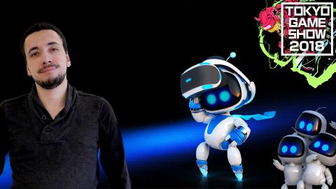 Astro Bot Rescue Mission : Le nouveau héros du PlayStation VR ? - TGS 2018