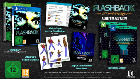 Flashback - 25th Anniversary : La Limited Edition annulée sur Xbox One