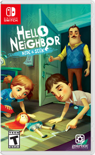 Hello Neighbor : Hide and Seek se faufilera aussi sur Nintendo Switch