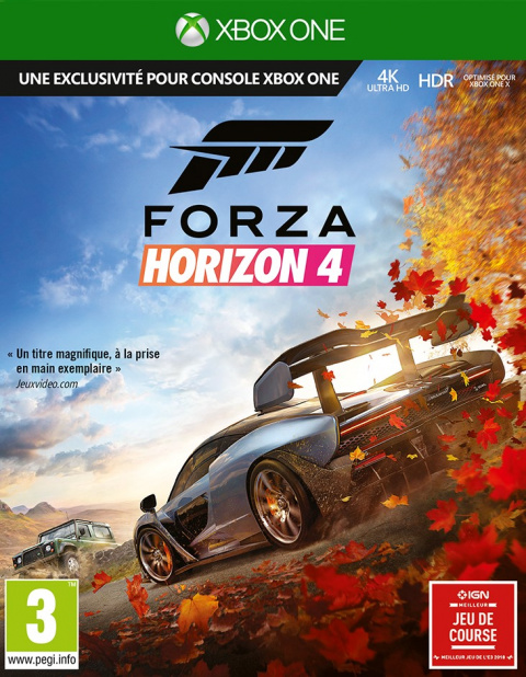 Forza Horizon 4 sur ONE