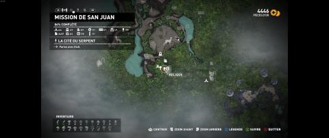 Caches de Survie : Région de la Mission de San Juan