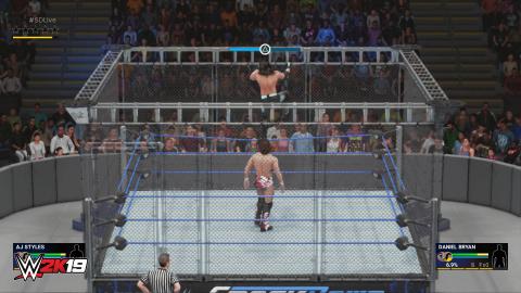 WWE 2K19 : les nouveautés de gameplay détaillées par les développeurs