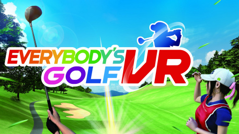 Everybody's Golf VR sur PS4