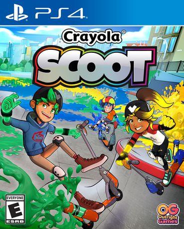 Crayola Scoot sur PS4
