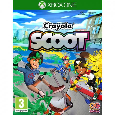 Crayola Scoot sur ONE