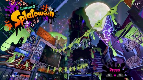 Splatoon 2 prépare son événement d'Halloween