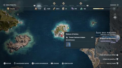 Ostracon des Îles aux pirates
