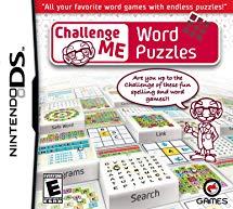 Challenge me :  Word Puzzle sur DS