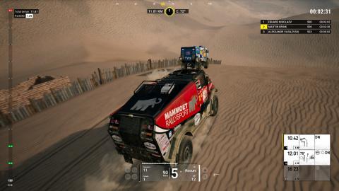 Dakar 18 : Du sable dans le moteur