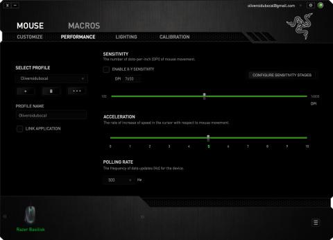 Test Razer Basilisk : Confort et performances