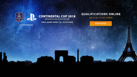PS League : qualifiez-vous pour la PlayStation Continental Cup 2018