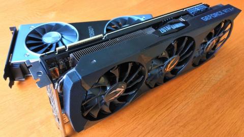 MAJ de notre dossier GeForce RTX : Test de carte Zotac RTX 2080 Ti AMP Edition