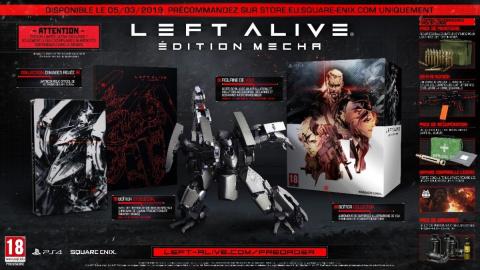 Left Alive : une date de sortie et une édition collector pour l'Europe