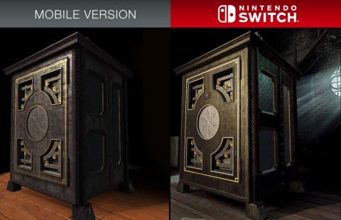 The Room : les améliorations graphiques de la version Switch illustrées