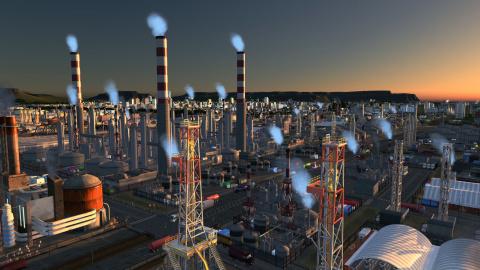 Cities Skylines : l'add-on Industries annoncé pour le 23 octobre