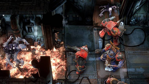 Space Hulk Tactics : Les Blood Angels résistent aux assauts des Genestealers