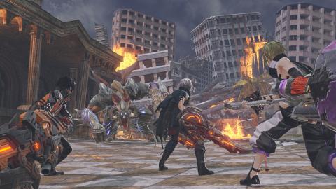 God Eater 3 présente son mode 8 joueurs en vidéo