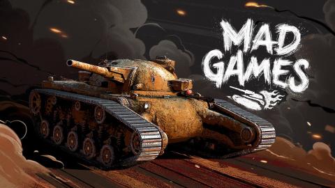 World of Tanks Blitz présente l'événement Mad Games