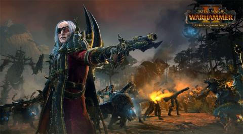 Total Warhammer II présente un personnage du nouveau DLC, Cylostra Direfin