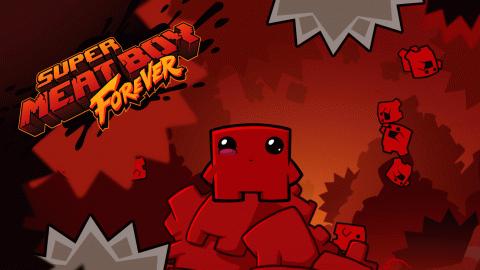 Super Meat Boy : Forever sur ONE