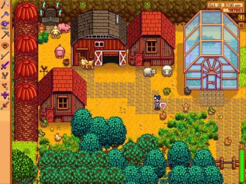 Stardew Valley sur iOS