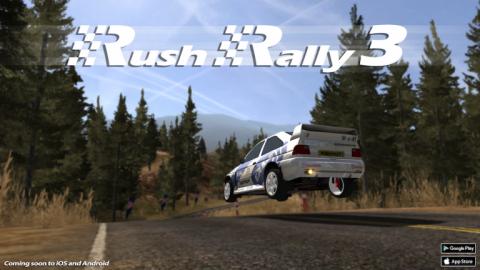 Rush Rally 3 sur iOS