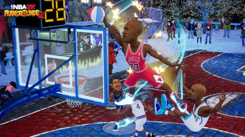 NBA 2K Playgrounds 2 vient dunker sur vos machines