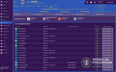 Football Manager 2019 : Une interface repensée qui augure du meilleur