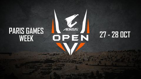 AORUS OPEN PUBG : Retrouvez les finales à la Paris Games Week !