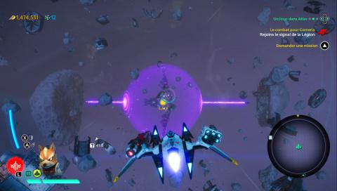 Le combat pour Corneria
