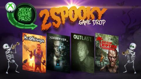 Xbox Game Pass : Tremblez avec les nouveautés d'Halloween