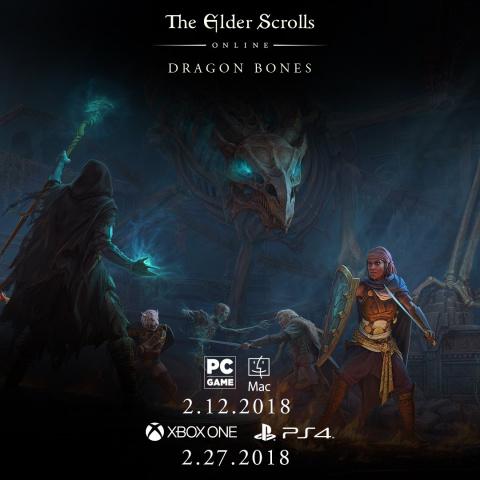 The Elder Scrolls Online : Dragon Bones sur PS4