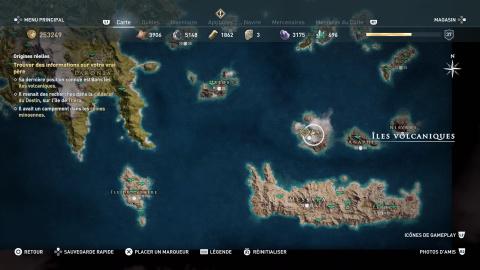 Quêtes des îles volcaniques