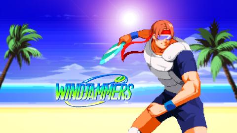 Windjammers joue du frisbee sur Switch