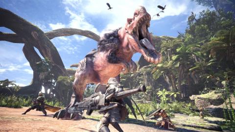 Monster Hunter : une photo du tournage de l'adaptation cinématographique