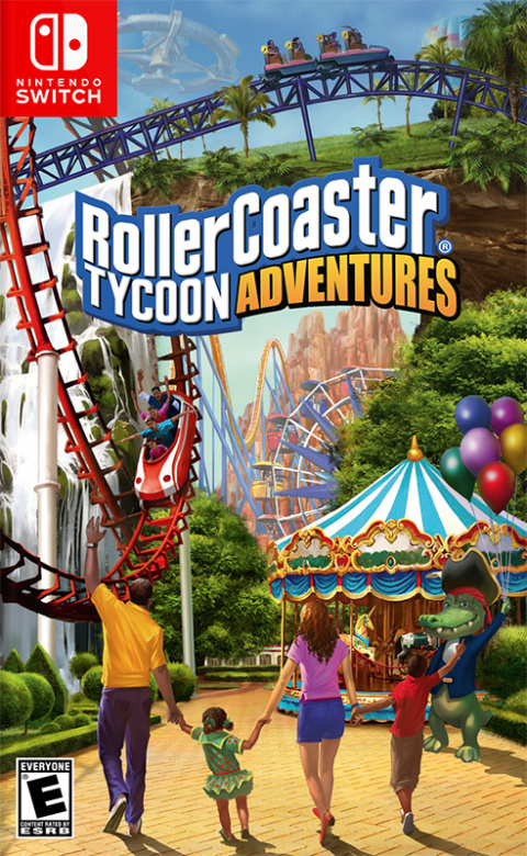 RollerCoaster Tycoon Adventures sur Switch